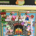 Third Grade Christmas Bulletin Board