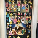 Second Grade Classroom Door